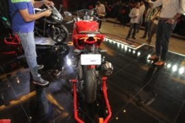 TVS-Apache-RR-310-launch-rear-red