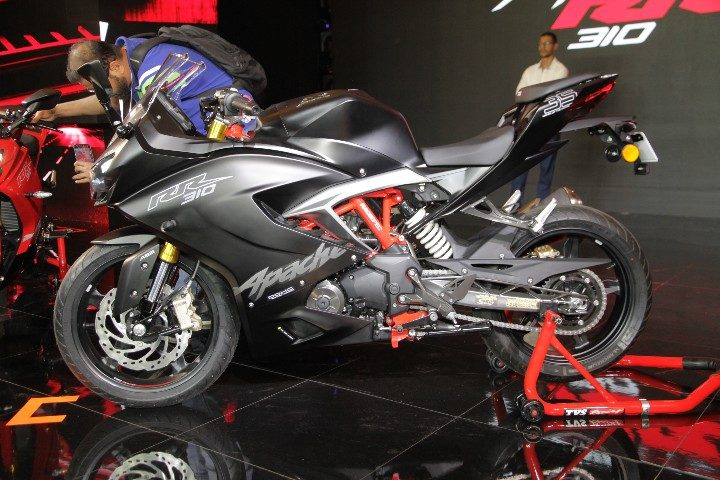 Apache RR 310 price hiked by Rs 8000