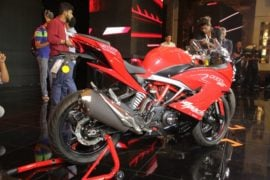 TVS-Apache-RR-310-launch-side-red