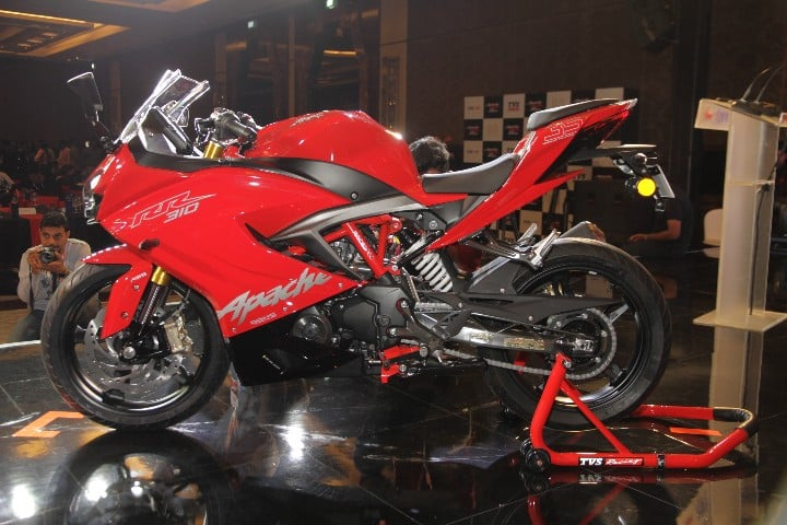 Five Things To Know About The New TVS Apache RR310