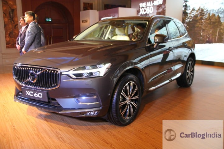 2018 Volvo XC60 Launched in India. Price – INR 55.9 lakh