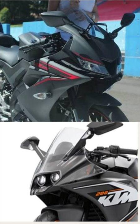 Yamaha R15 V3.0 vs KTM RC 200