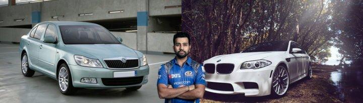 cars of rohit sharma