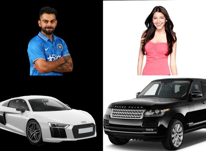 cars of virat kohli and anushka sharma
