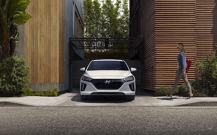 hyundai ioniq electric car india launch images