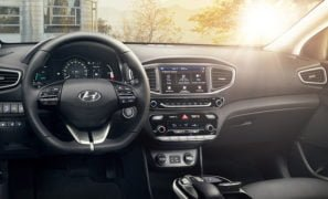 hyundai ioniq electric car india launch images Interior Dashboard