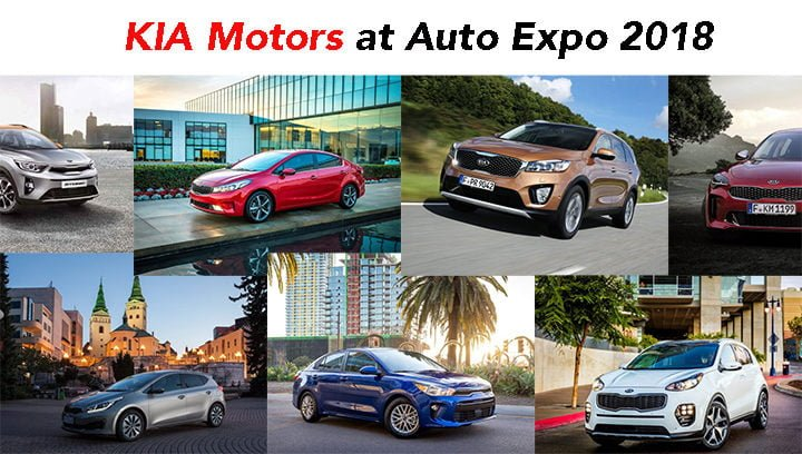kia cars at auto expo 2018