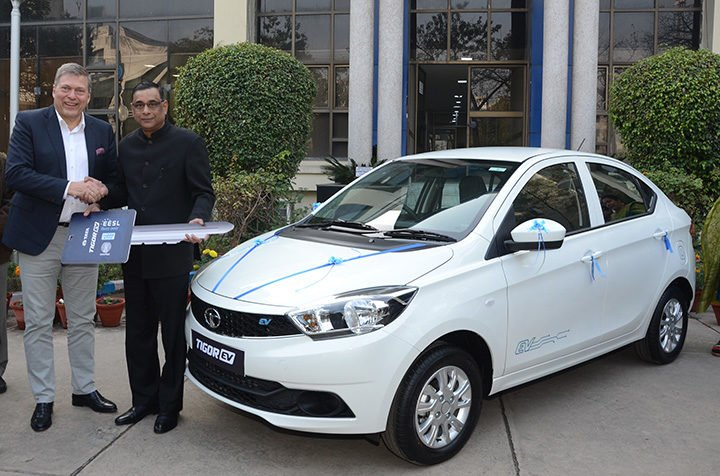 Tata Tigor Electric Launch Date Price Specifications Range Images