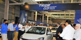 tata tigor electric vehicle ev image