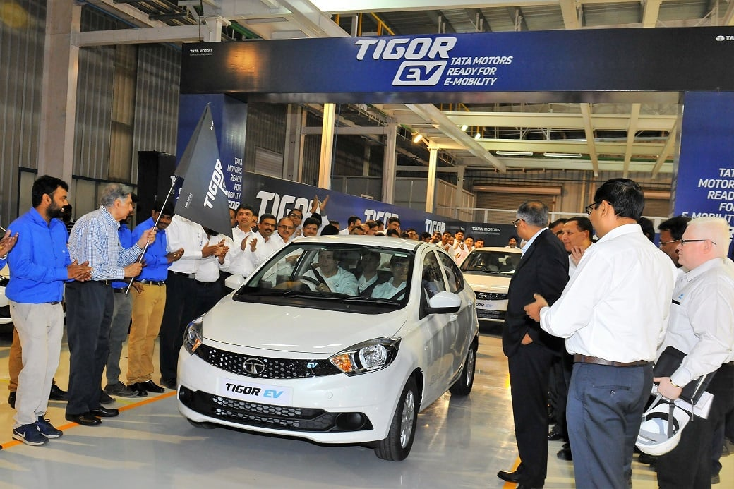 Tata tigor electric vehicle launch date price in india for Tata motors electric car
