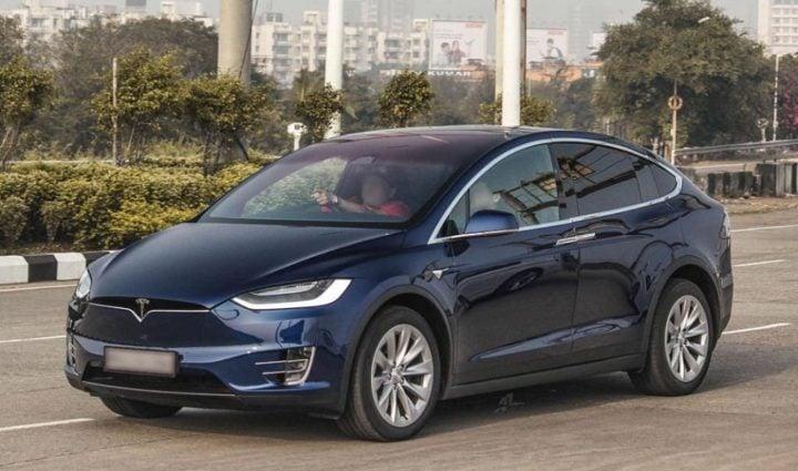 Tesla car in india