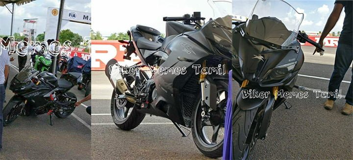 These TVS Apache RR310S Images Totally Reveal the New Apache 310