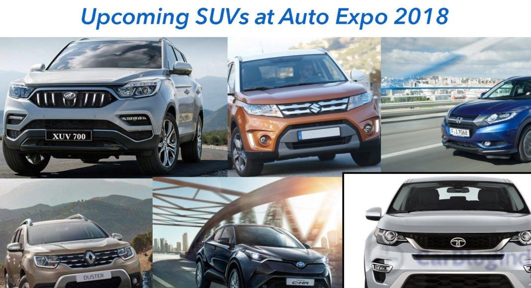 upcoming suv at auto expo 2018
