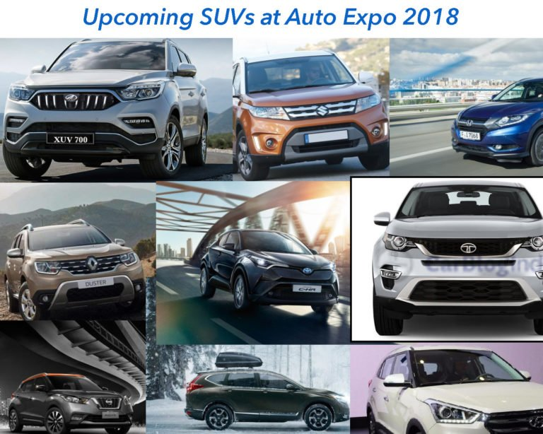 Upcoming SUV Cars at the 2018 Auto Expo – Hot List