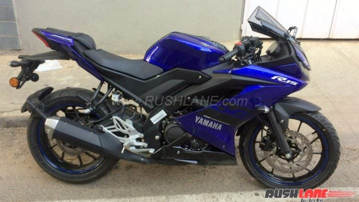 yamaha r15 v3 india images side profile blue