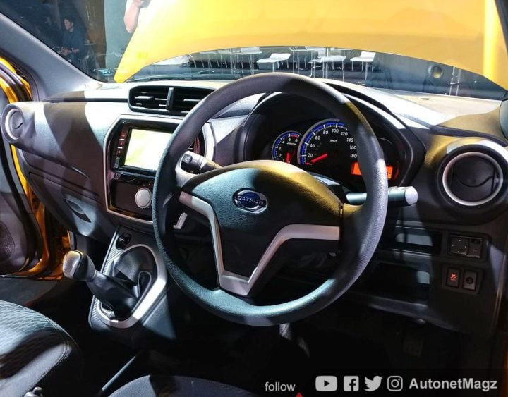 2018 Datsun Cross Interior