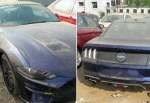 2018 Ford Mustang Spied india