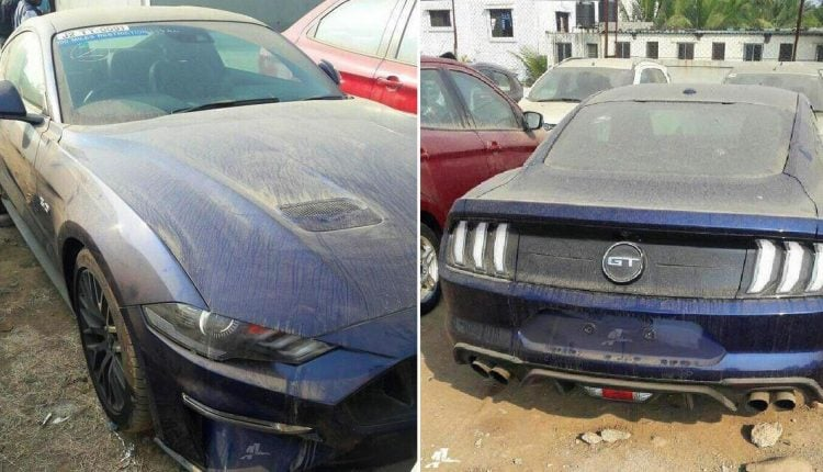 2018 Ford Mustang Spied in India for First Time, Launch Later This Year