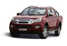 2018 Isuzu D Max V Cross launch