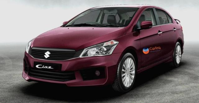 new Maruti Suzuki Ciaz Facelift Images