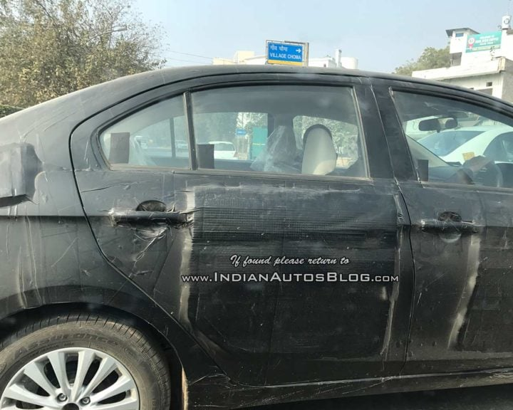 2018 Maruti Suzuki Ciaz facelift right side profile image