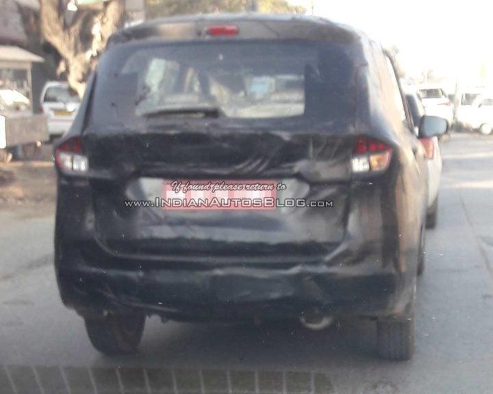 2018 Maruti Suzuki Ertiga image rear angle