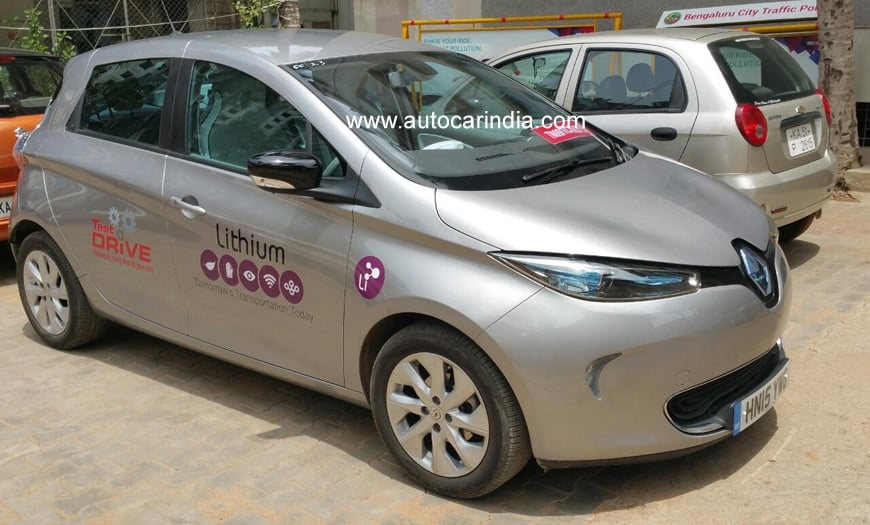 Renault Zoe Electric Car Price India