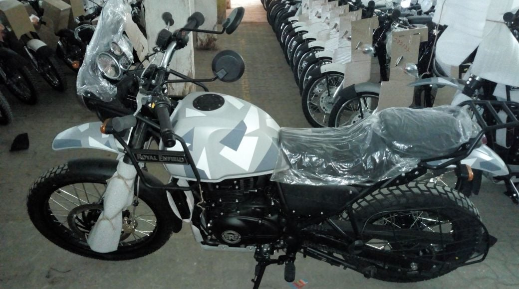 Royal Enfield Himalayan Sleet Special Edition Images