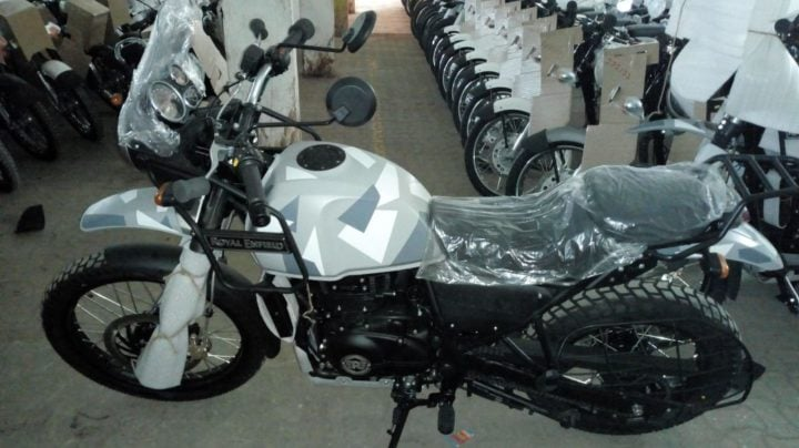 2018 Royal Enfield Himalayan Camo Edition