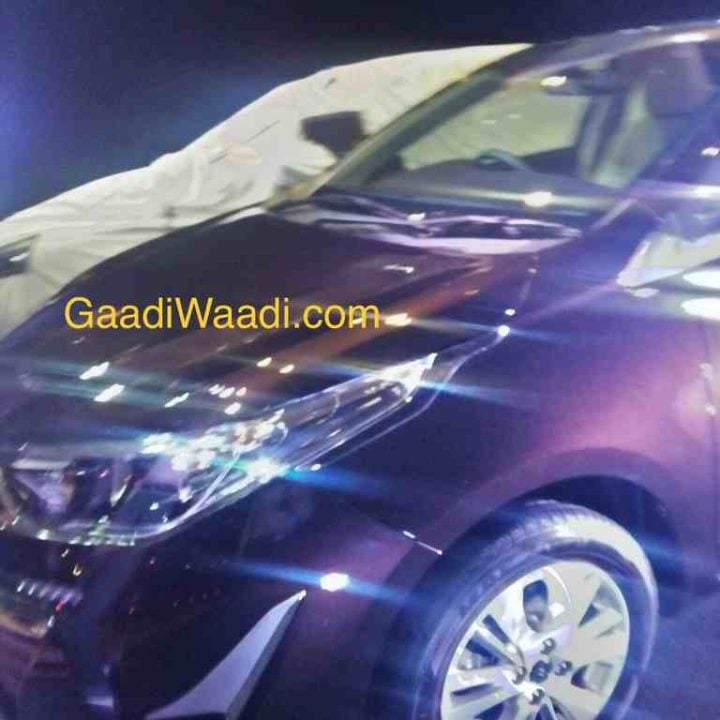 2018 Toyota Vios Spied undisguised