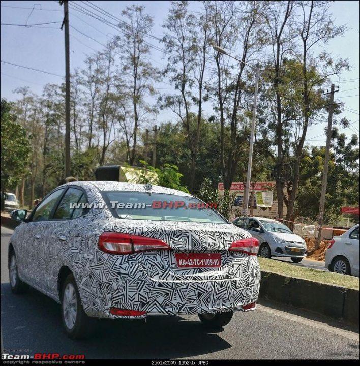 2018 Toyota Vios spied