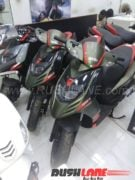 2018 aprilia sr 150 colours grey