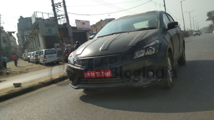 2018 maruti ciaz facelift images front angle