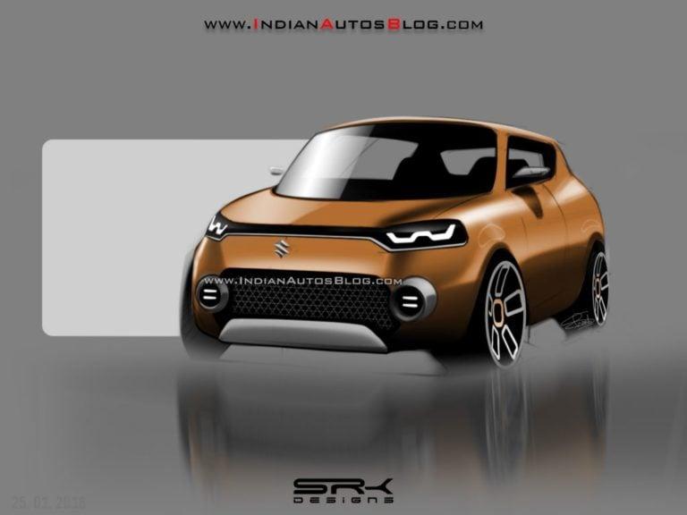 2018 Maruti Future S Concept Rendered, Debut at Auto Expo 2018