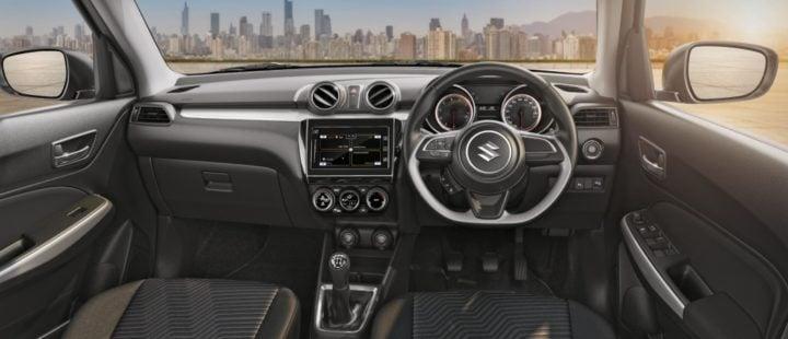 2018 maruti suzuki swift interior dashboard