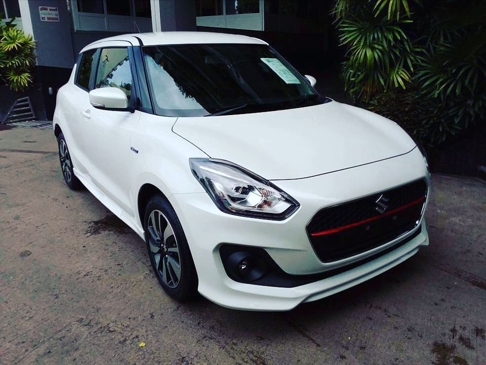 2018 Maruti Swift Rs India Debut At Auto Expo 2018 Spotted