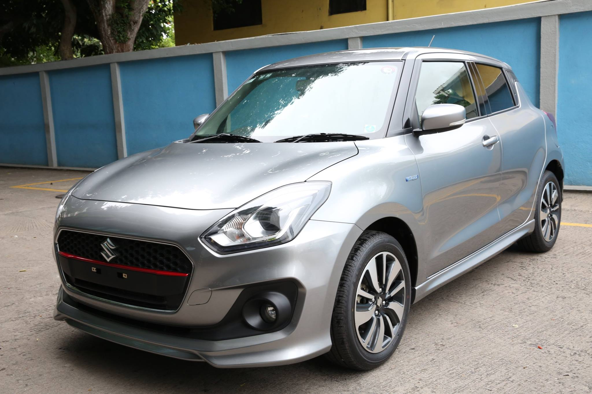 2018 Maruti Swift RS India Debut at Auto Expo 2018, Spotted!