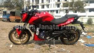 Bajaj Dominar Racing Red Colour