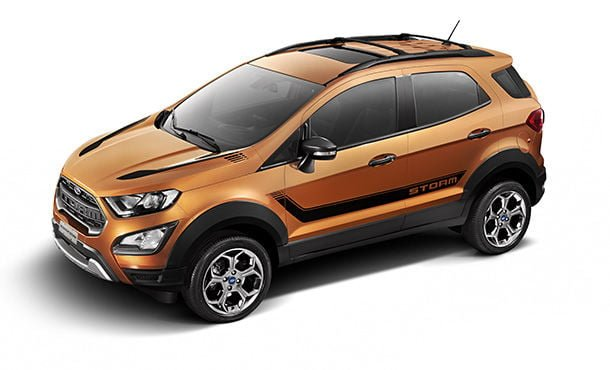 Ford EcoSport Storm front angle top view