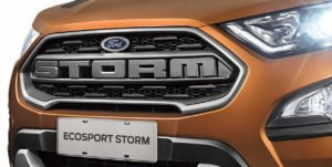 Ford EcoSport Storm Images front grille