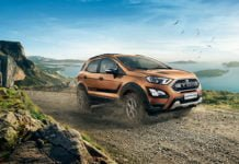 Ford EcoSport Storm front three angle images