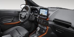 Ford EcoSport Storm Images Interior Dashboard Side View