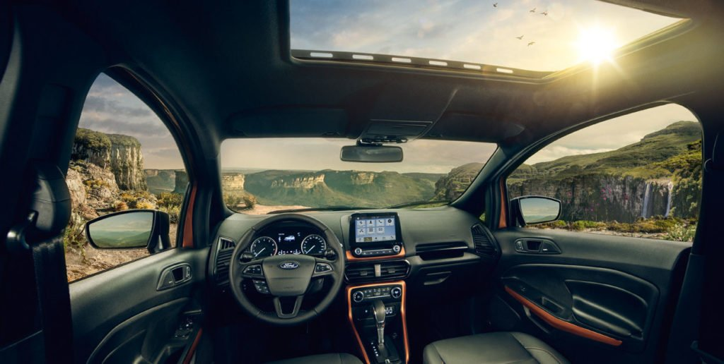 Ford EcoSport Storm Images Interior - CarBlogIndia