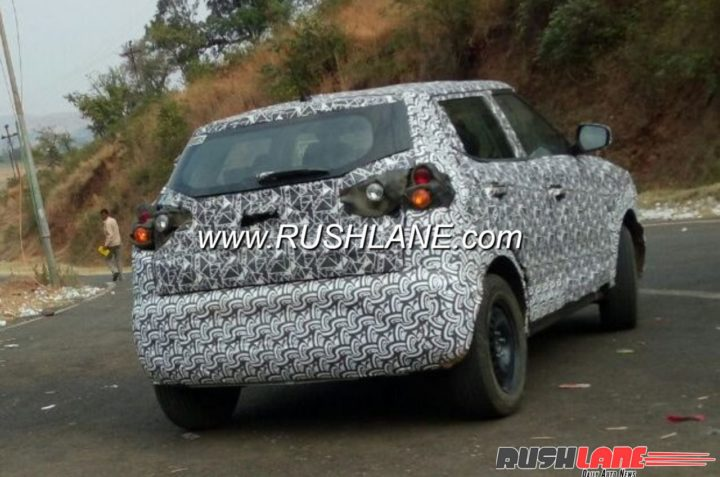 Mahindra S201 spy shot