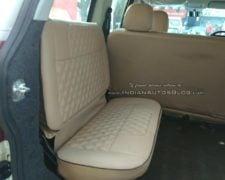 Mahindra TUV300 Plus Images interior rear seat lucknow