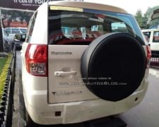 Mahindra TUV300 Plus Images rear lucknow