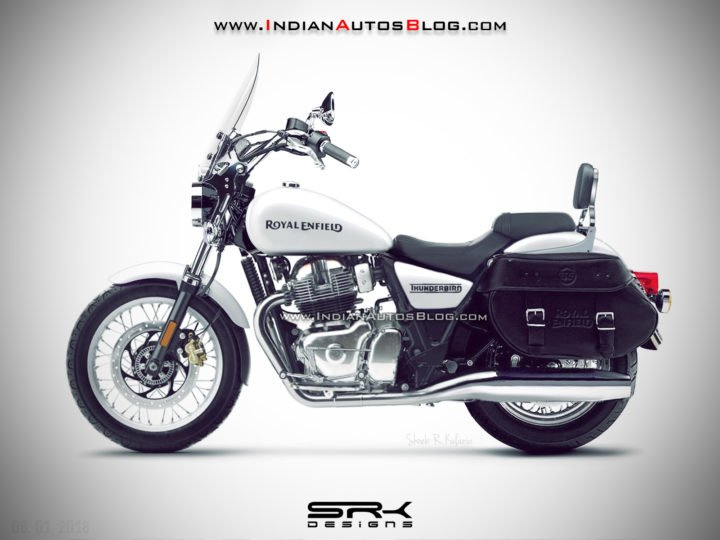 Royal Enfield Thunderbird 650 images silver