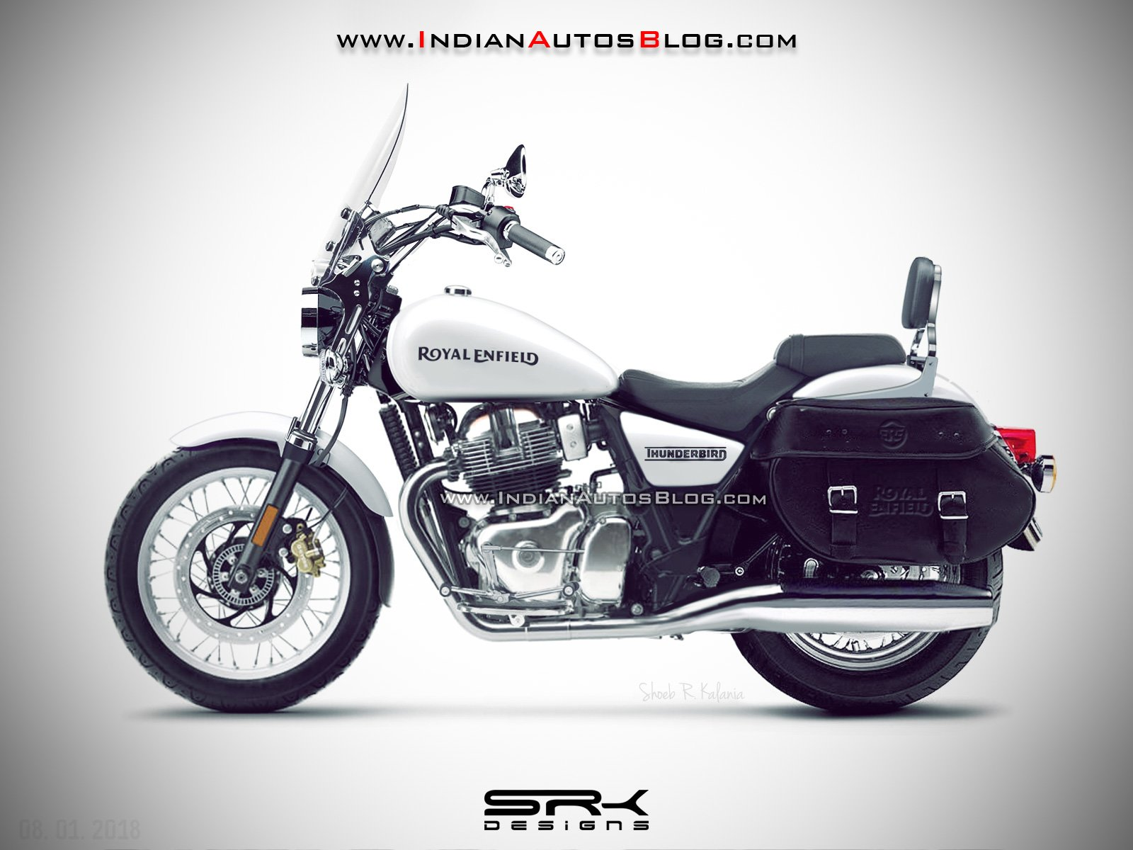 Old School Motorcycles >> Royal Enfield Thunderbird 650 - Price, Features, Launch Date