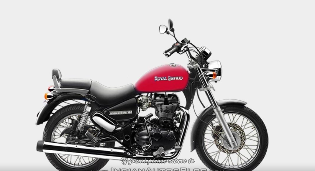 Royal Enfield Thunderbird Redditch Red Colour