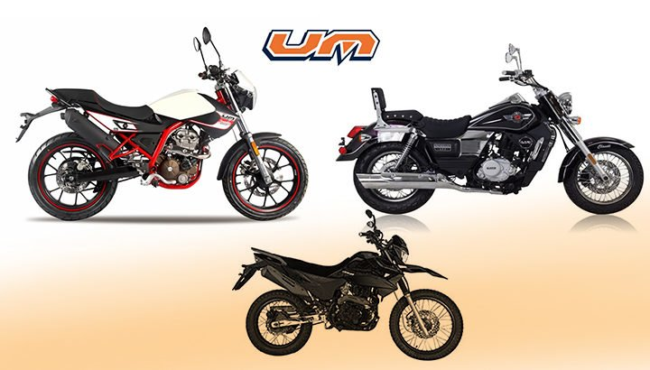 UM Global Bikes at Auto Expo 2018